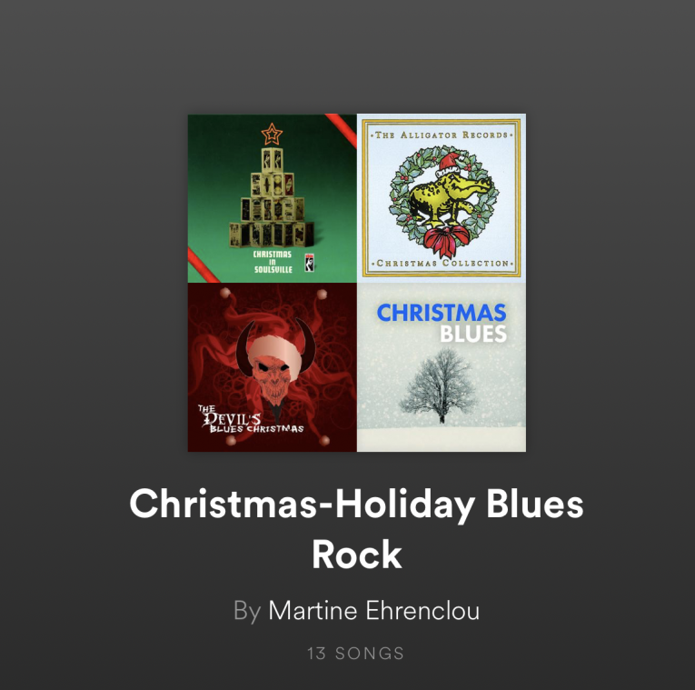 christmas holiday blues rock playlist 2017 rock and blues muse - Christmas Blues Songs