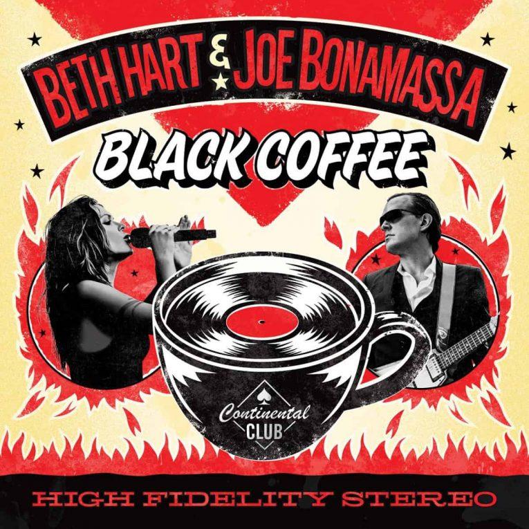 album review, black coffee, Beth Hart, Joe Bonamassa, Rock and Blues Muse, Tom O'Connor
