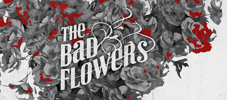 album review, Starting Gun, The Bad Flowers, Scott Bampton, Rock and Blues Muse