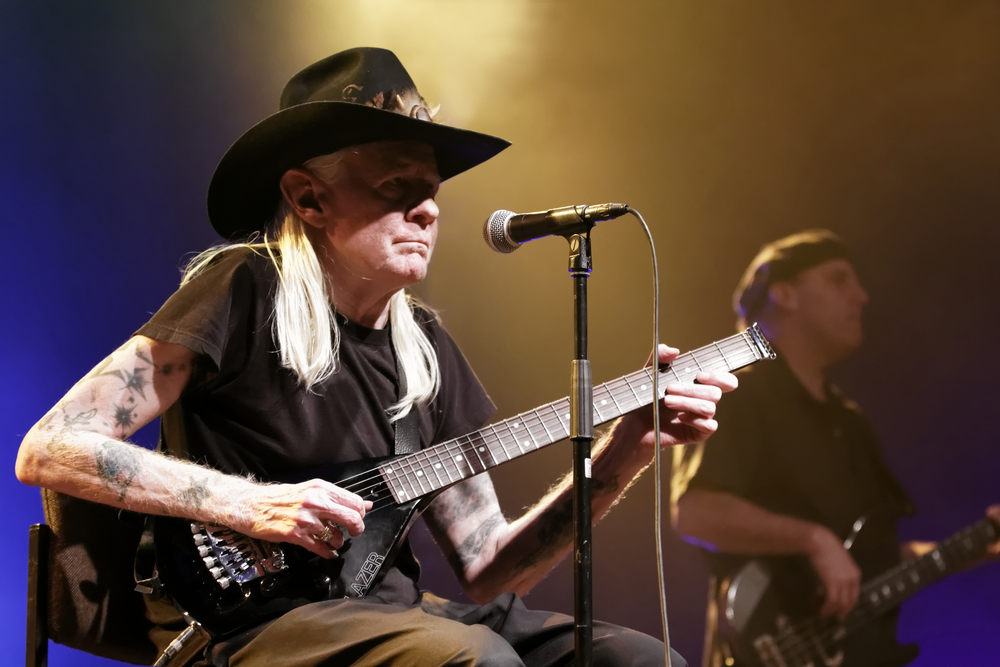 Johnny Winter, Rock and Blues Muse