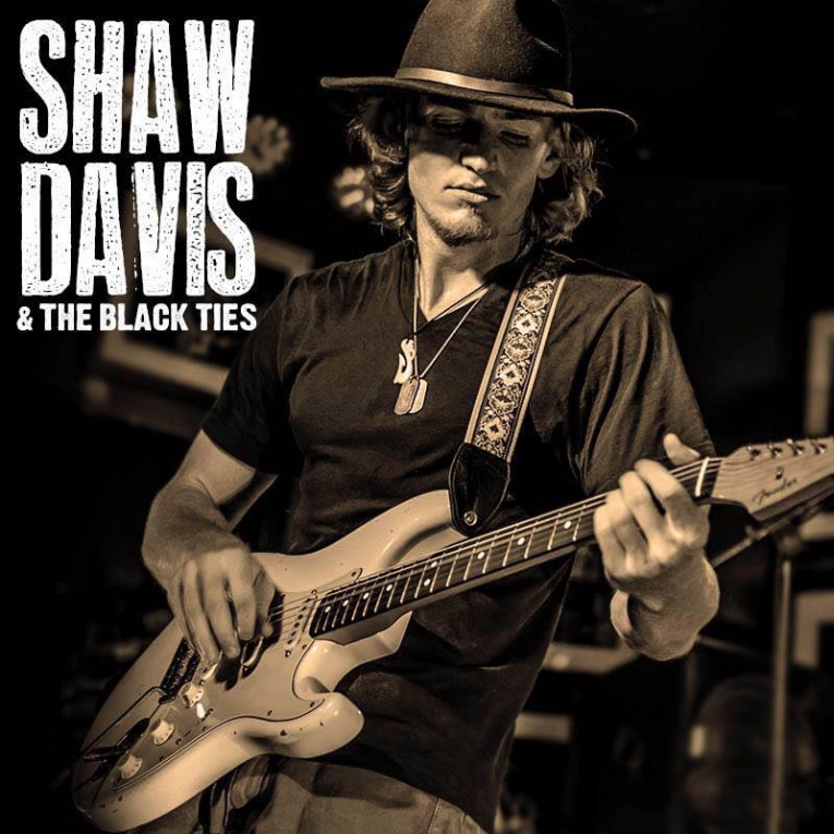 Video of the Week, Shaw Davis & The Black Ties, Rock and Blues Muse, Martine Ehrenclou
