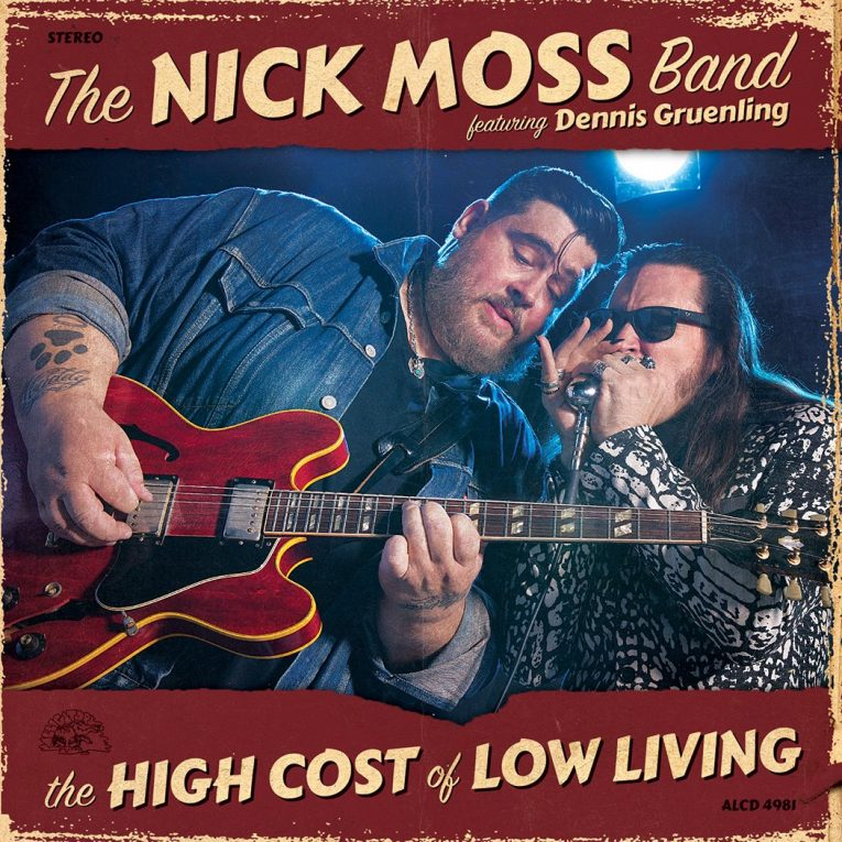 album review, The Nick Moss Band, Dave Resto, Rock and Blues Muse, blues music