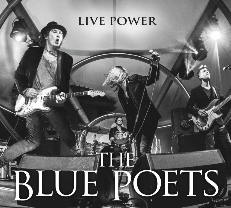 Album review, Live Power, The Blue Poets, Rock and Blues Muse
