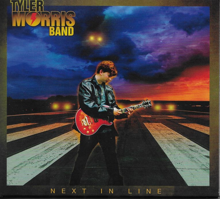 album review, Next in Line, Tyler Morris, Rock and Blues Muse