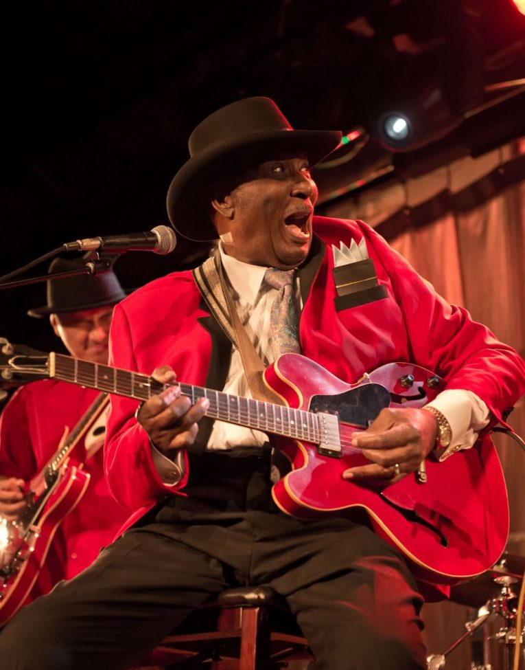 Interview with Eddy Clearwater, legendary bluesman, Martine Ehrenclou, Rock and Blues Muse