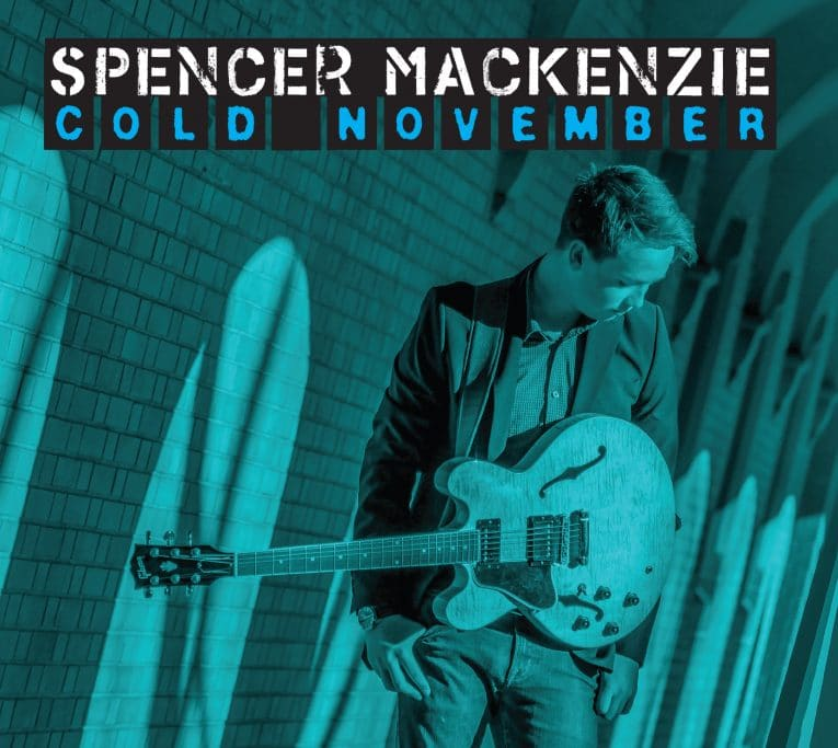 Album review, Cold November, Spencer Mackenzie, Rock and Blues Muse