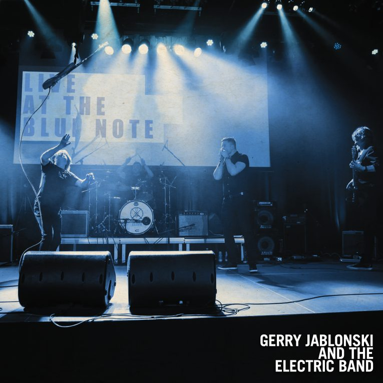 Album review, Live at the Blue Note, Gerry Jablonski and the Electric Band, Rock and Blues Muse