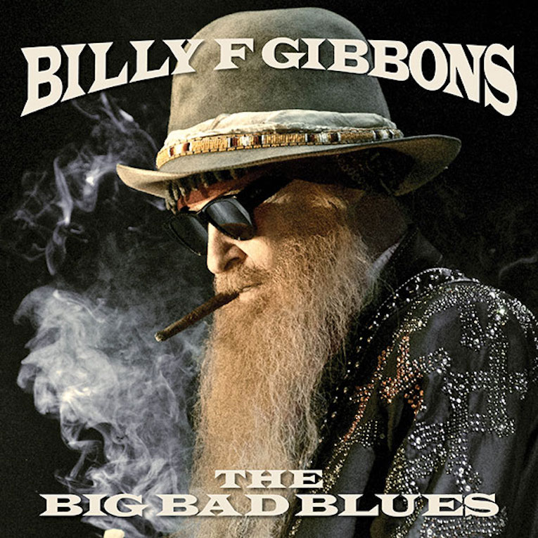 Album announcement, Billy Gibbons, The Big Bad Blues, Concord Records, Rock and Blues Muse