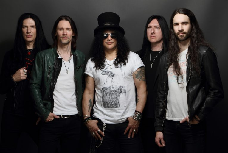 Slash Ft Myles Kennedy, Living The Dream, Rock and Blues Muse