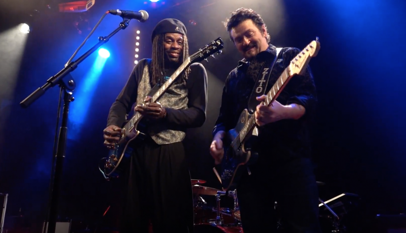 Video of the Week, Mike Zito, Bernard Allison, Mama Don't Like No Wah Wah live, Rock and Blues Muse