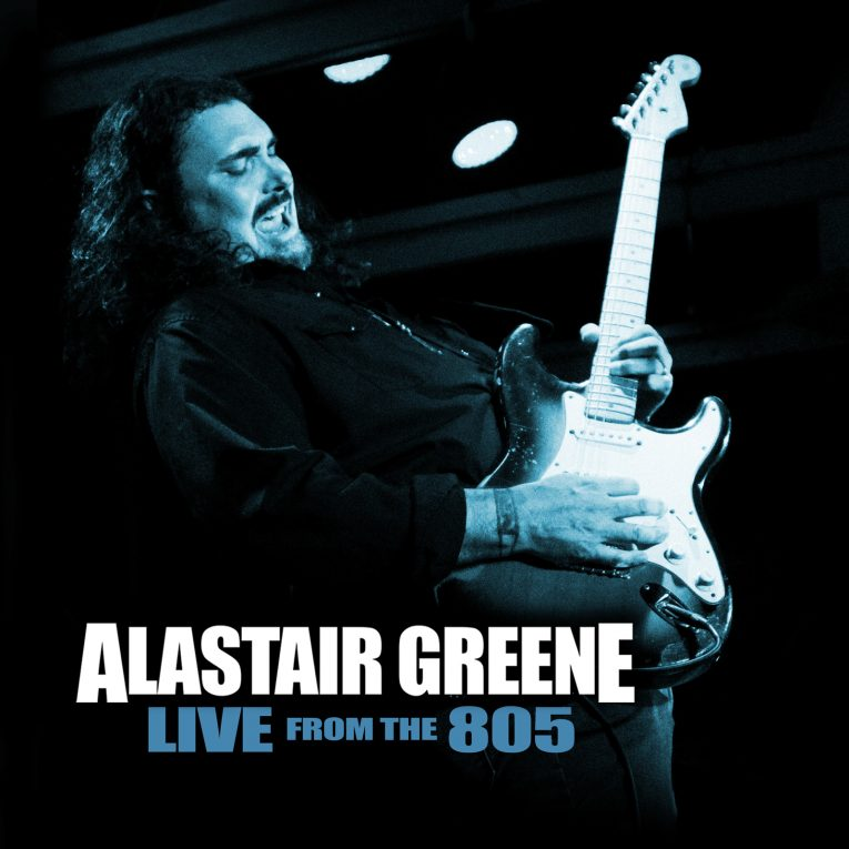 Album review, Live at the 805, Alastair Greene, Rock and Blues Muse