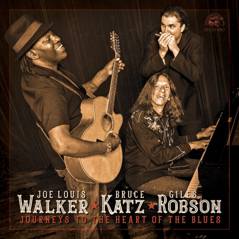 Review, Journeys To The Heart Of The Blues, Joe Louis Walker, Bruce Katz, Giles Robson, Tom O'Connor, Rock and Blues Muse