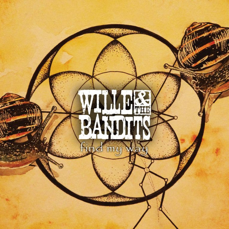 Single release, Find My Way, Willie & The Bandits, Rock and Blues Muse