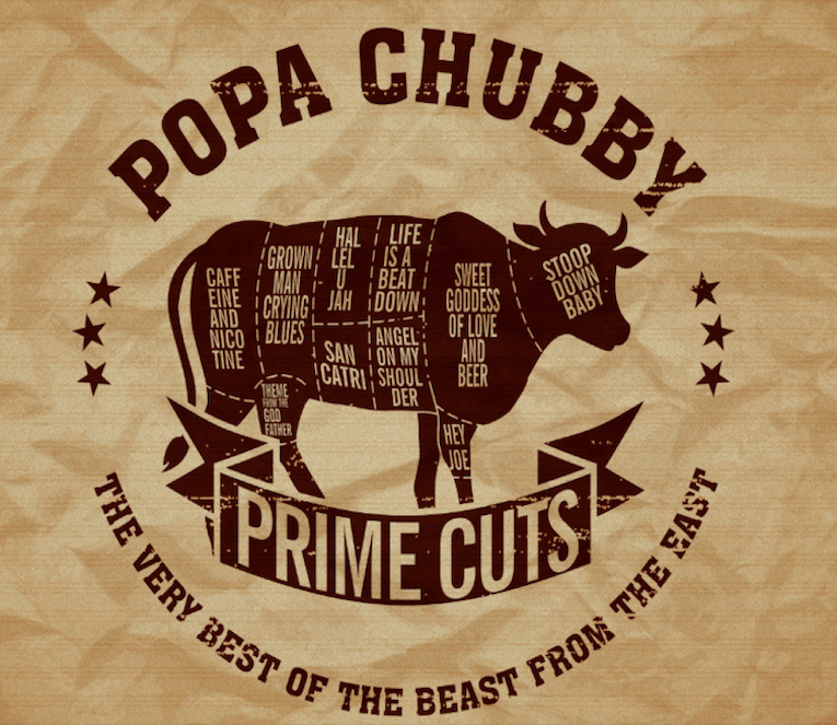 Album review, Prime Cuts, Popa Chubby, Rock and Blues Muse