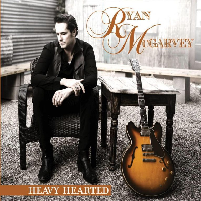 Review, Heavy Hearted, Ryan McGarvey, Blues-rock, Rock and Blues Muse