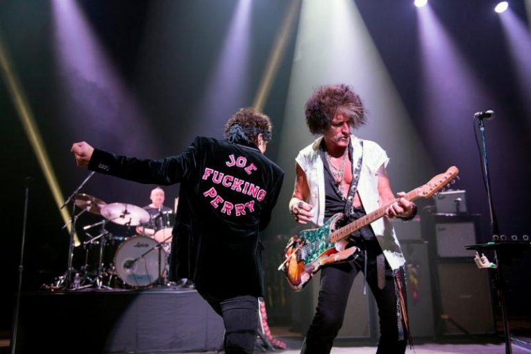 Joe Perry, Hospitalized, Rock and Blues Muse