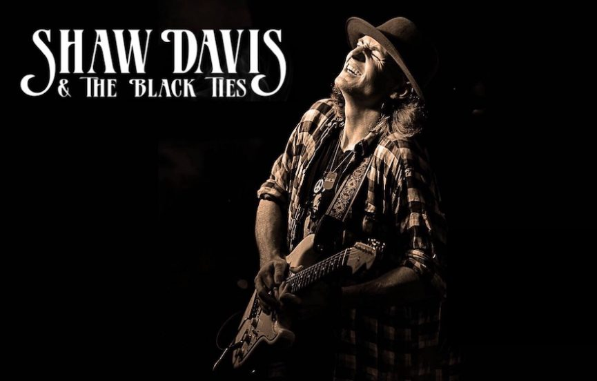 Review, Tales From The West, Shaw Davis & The Black Ties, Rock and Blues Muse