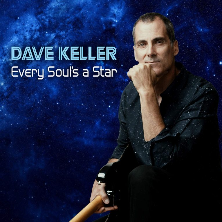 Album review, Every Soul's a Star, Dave Keller, Rock and Blues Muse