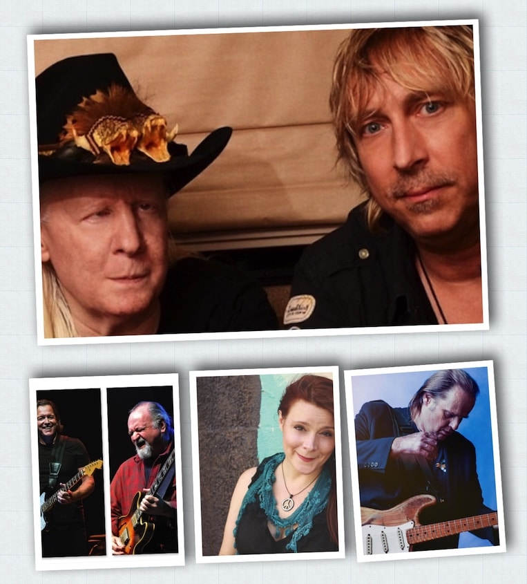Five of Our Favorite Artist Interviews of 2018, Paul Nelson, Carolyn Wonderland, Walter Trout, Tommy Castro, Tinsley Ellis, Anthony Gomes, Rock and Blues Muse, Martine Ehrenclou