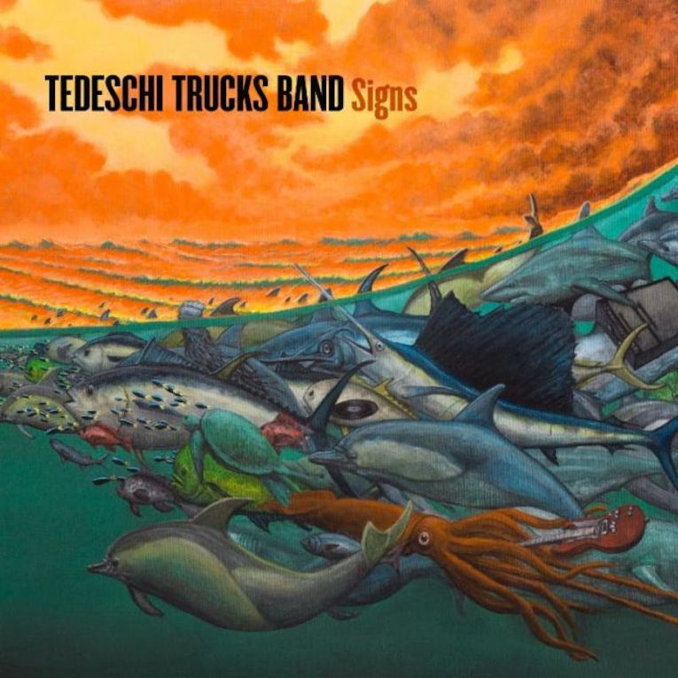 Tedeschi Trucks Band, new album, Signs, new single Hard Case, Rock and Blues Muse