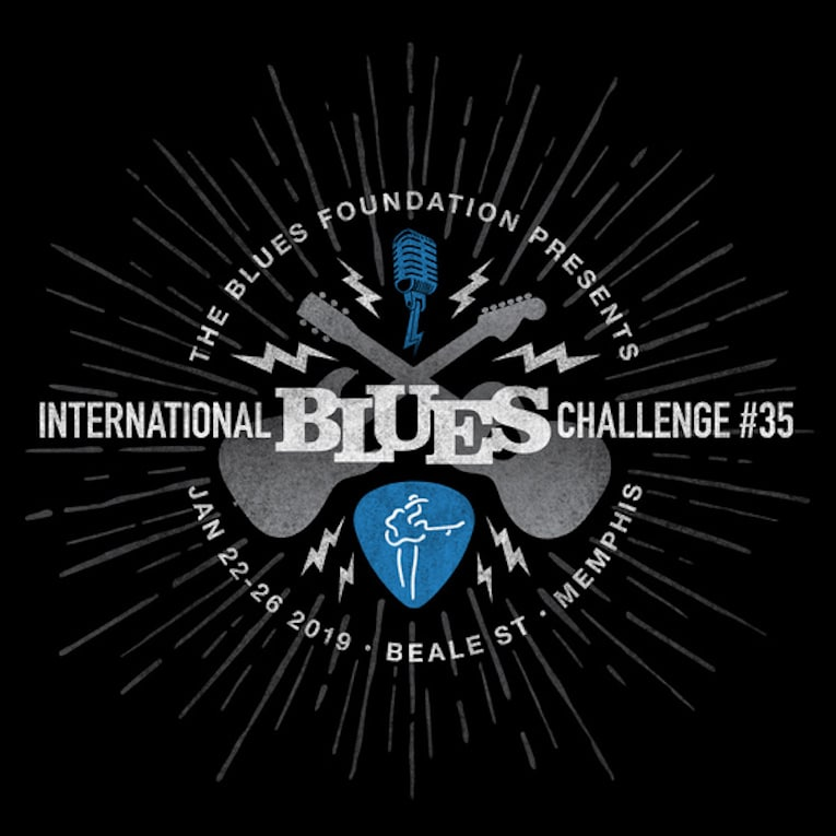 Announcement, winners, International Blues Challenge #35, Rock and Blues Muse