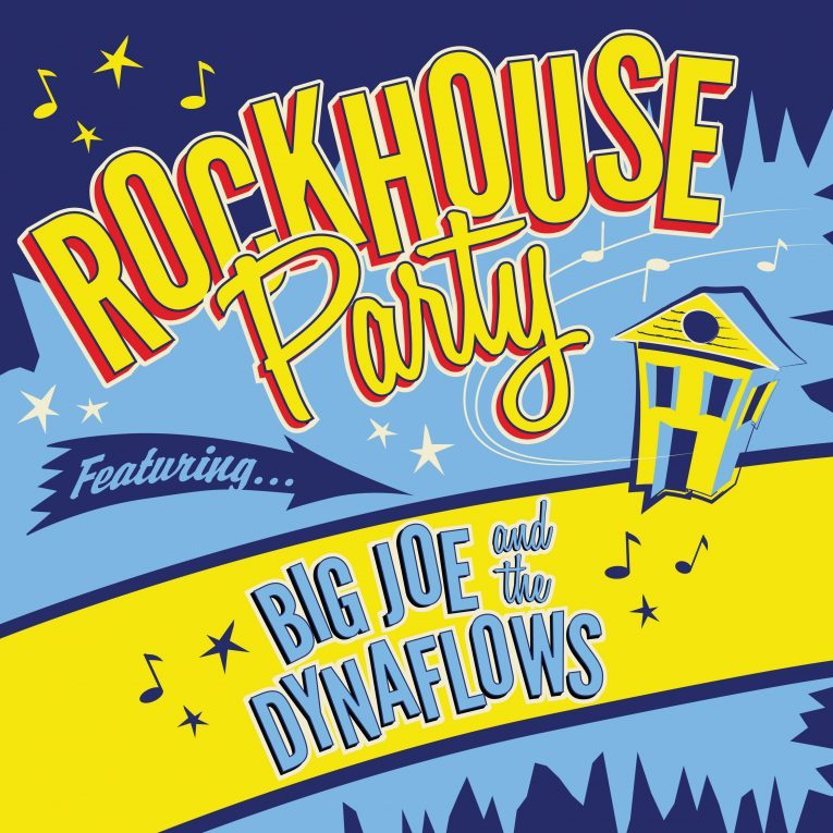 review, Rockhouse Party, Big Joe and the Dynaflows, Rock and Blues Muse