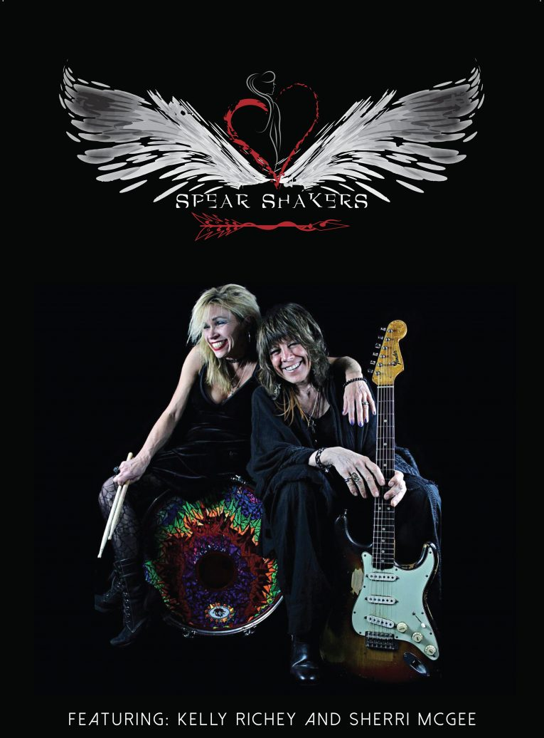 Video of the Week, The Spear Shakers, Kelly Richey, Sherri McGee, Martine Ehrenclou, Rock and Blues Muse