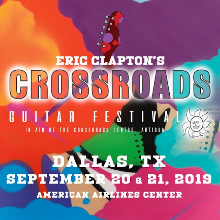 Eric Clapton Announces 2019 Crossroads Guitar Festival ...
