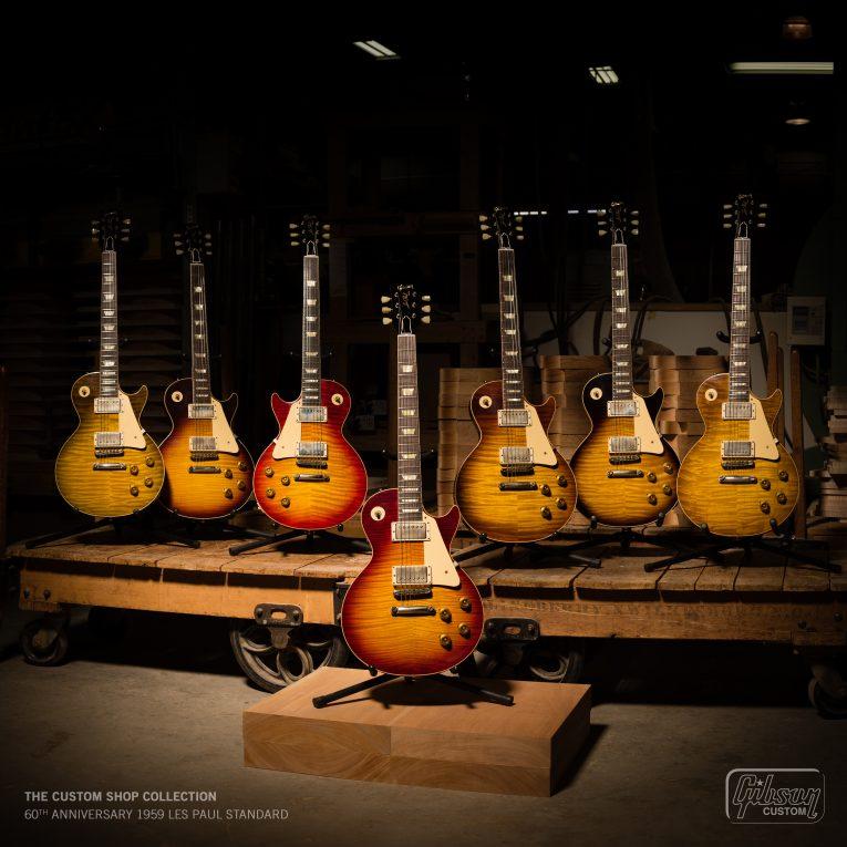 Gibson Announces Their New Original Modern and Custom Shop