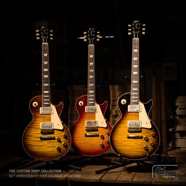 Gibson new Original Modern and Custom Shop Collections, Rock and Blues Muse
