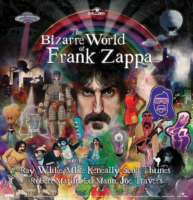 The Bizarre World Of Frank Zappa Tour, Frank Zappa, Rock and Blues Muse