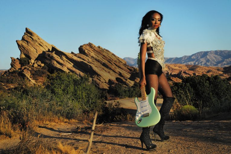 Malina Moye, guitarist, singer songwriter, Enough, new single, Rock and Blues Muse