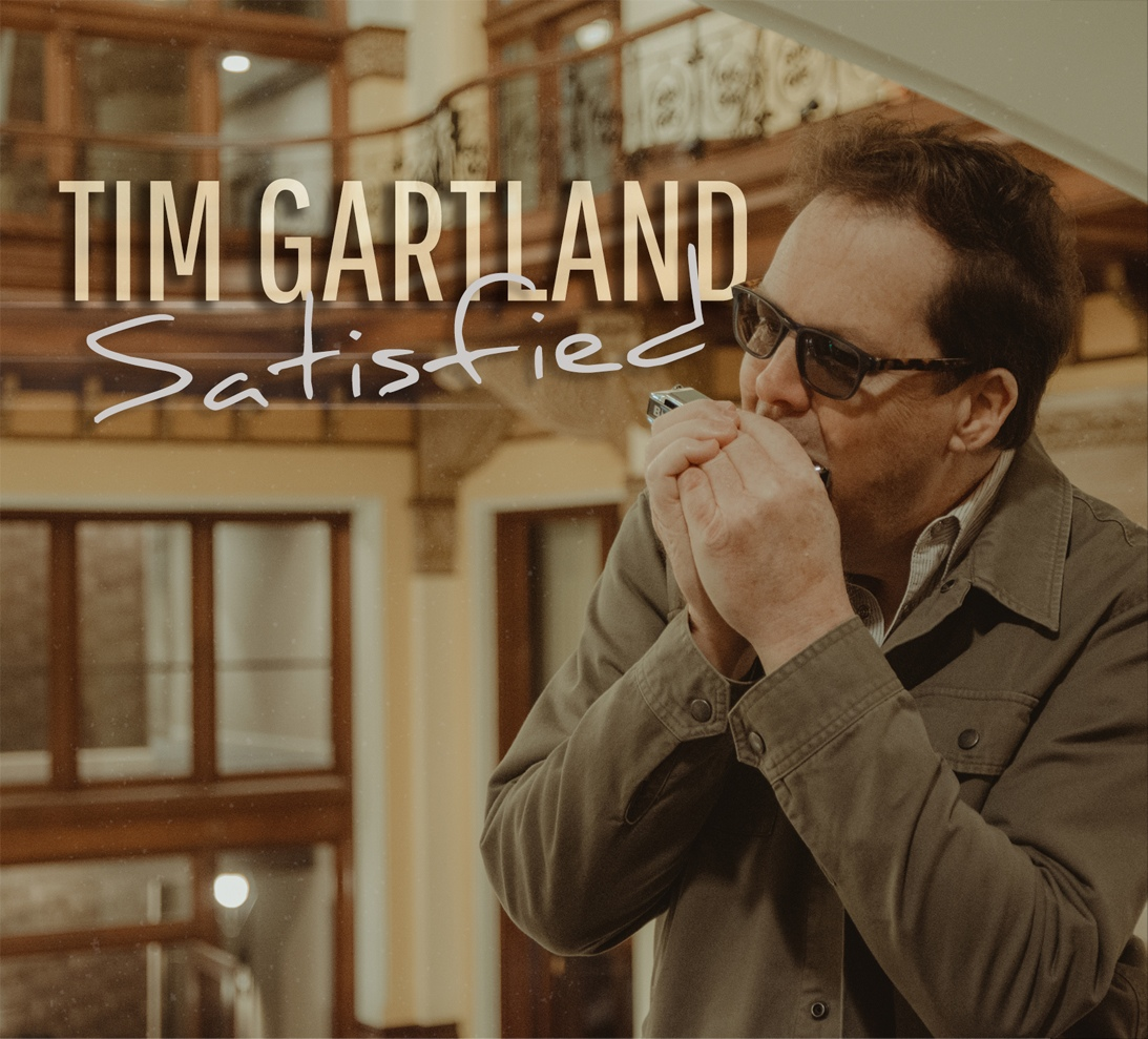 Review: Satisfied by Tim Gartland - Rock and Blues Muse with Martine