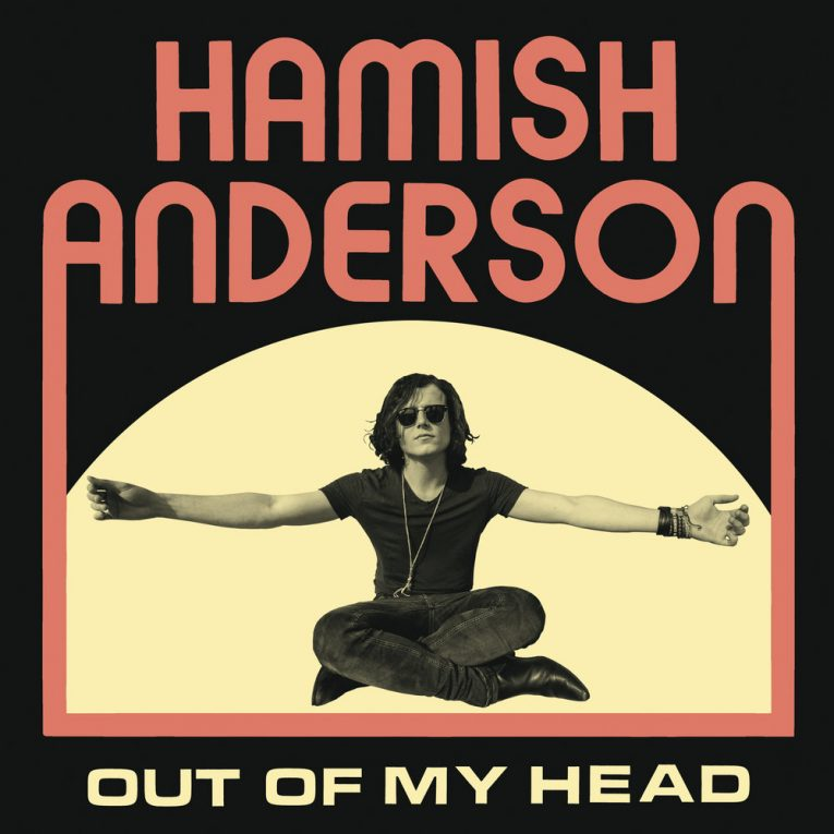Hamish Anderson, Out Of My Head, album review, Rock and Blues Muse