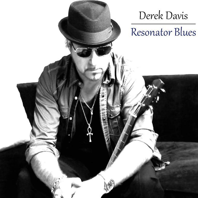 Derek Davis, Resonator Blues, album review, Rock and Blues Muse