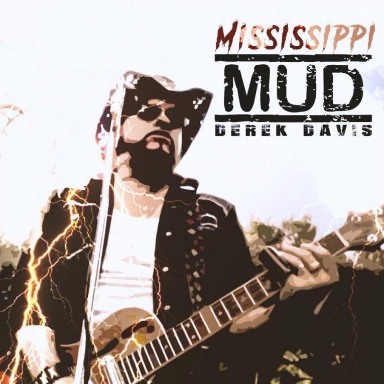 Derek Davis, Mississippi Mud, single, Resonator Blues, Rock and Blues Muse