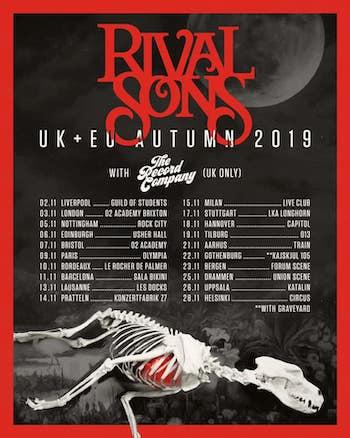 Rival Sons tour dates