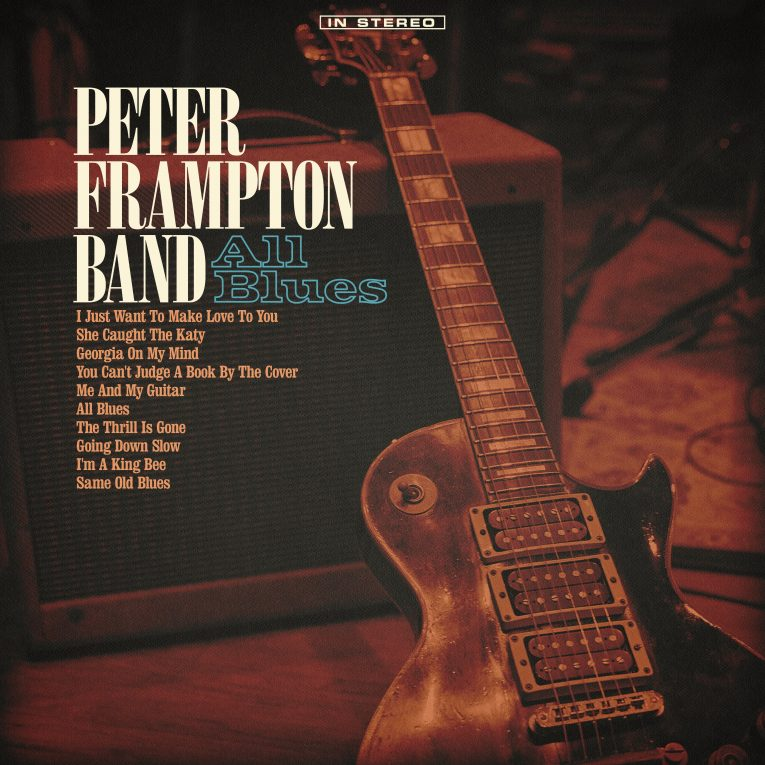 Peter Frampton, All Blues, review, Rock and Blues Muse