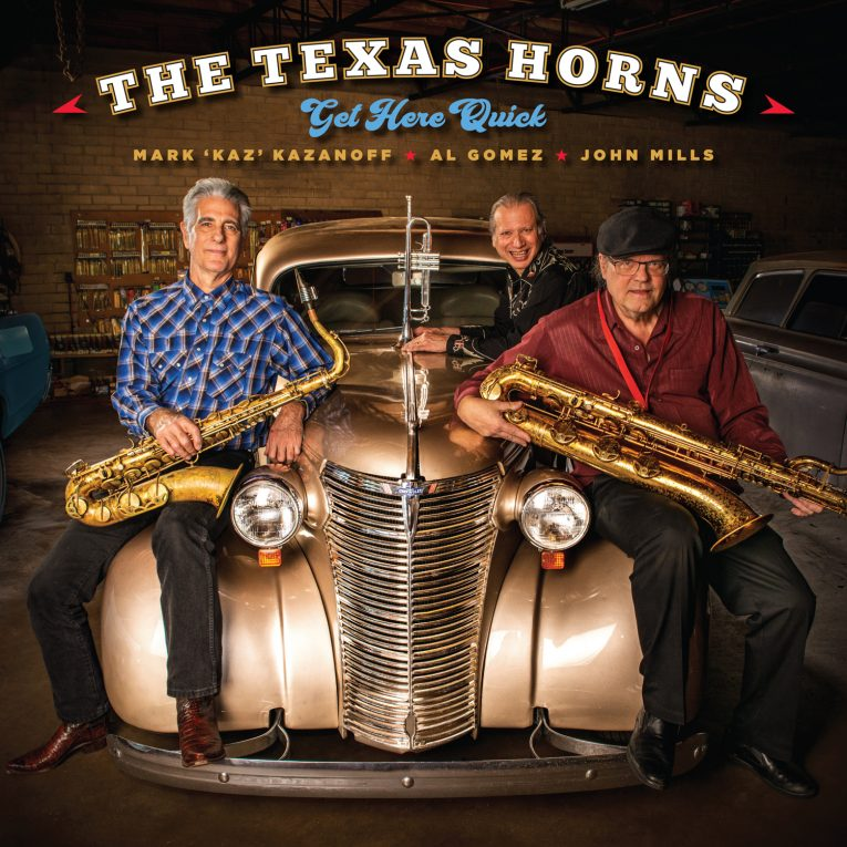 The Texas Horns, Get Here Quick, Severn Records, album review, Rock and Blues muse