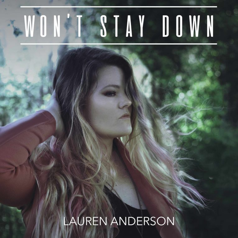 Lauren Anderson, Won't Stay Down, review, Martine Ehrenclou, Rock and Blues Muse