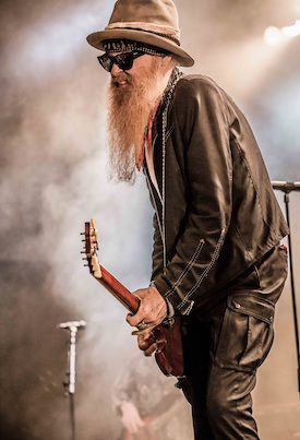 Billy F. Gibbons, Supersonic Blues Machine, Road Chronicles Live, Rock and Blues Muse