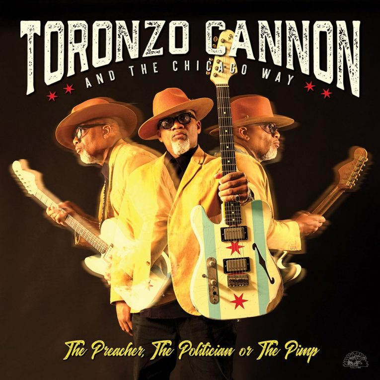 Toronzo Cannon, announces new album, The Preacher The Politician Or The Pimp, Rock and Blues Muse