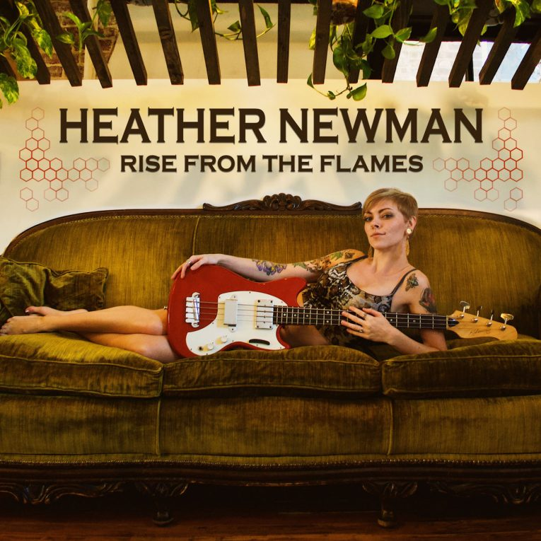 Heather Newman, Rise From The Flames, review, Rock and Blues Muse