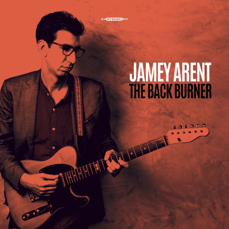 Jamey Arent, The Back Burner, EP review, Martine Ehrenclou, Rock and Blues Muse