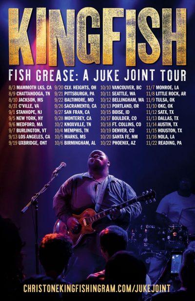 Christone Kingfish Ingram, headlining tour, Fish Grease: A Juke Joint Tour, Rock and Blues Muse