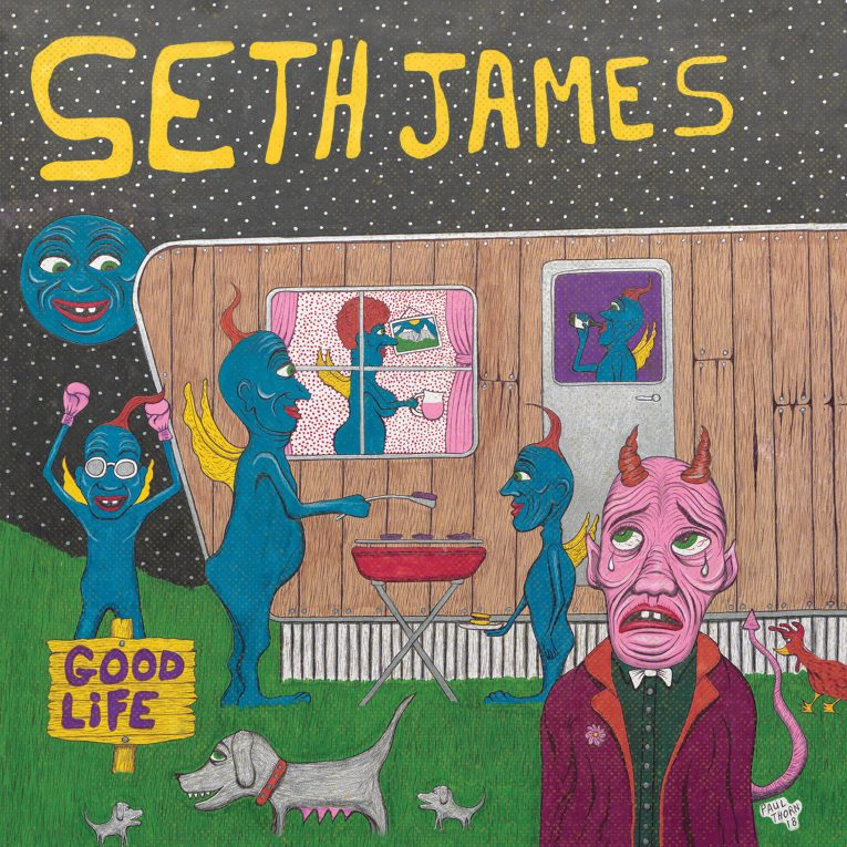 Seth James, Good Life, album review, Martine Ehrenclou, Rock and Blues Muse