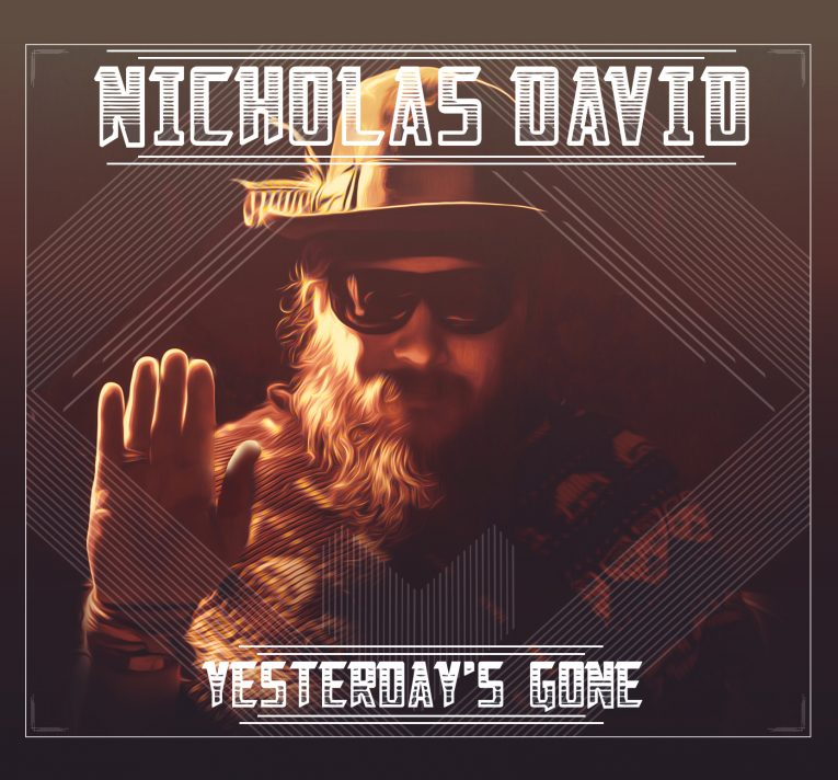 Nicholas David, new album announcement, Yesterday's Gone, Rock and Blues Muse