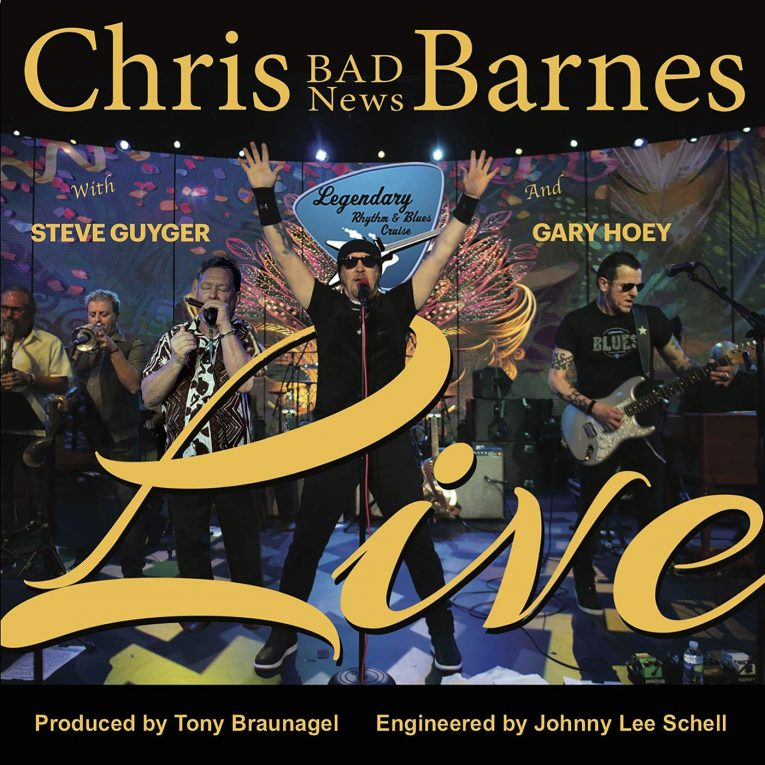 Chris Bad News barnes Live, album review, Rock and Blues Muse