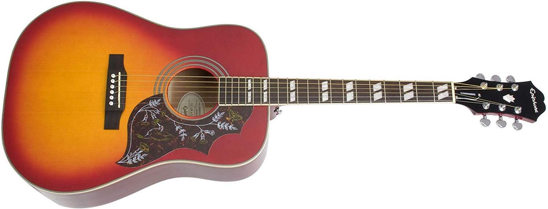 Epiphone Hummingbird Acoustic Guitar, Heritage Cherryburst