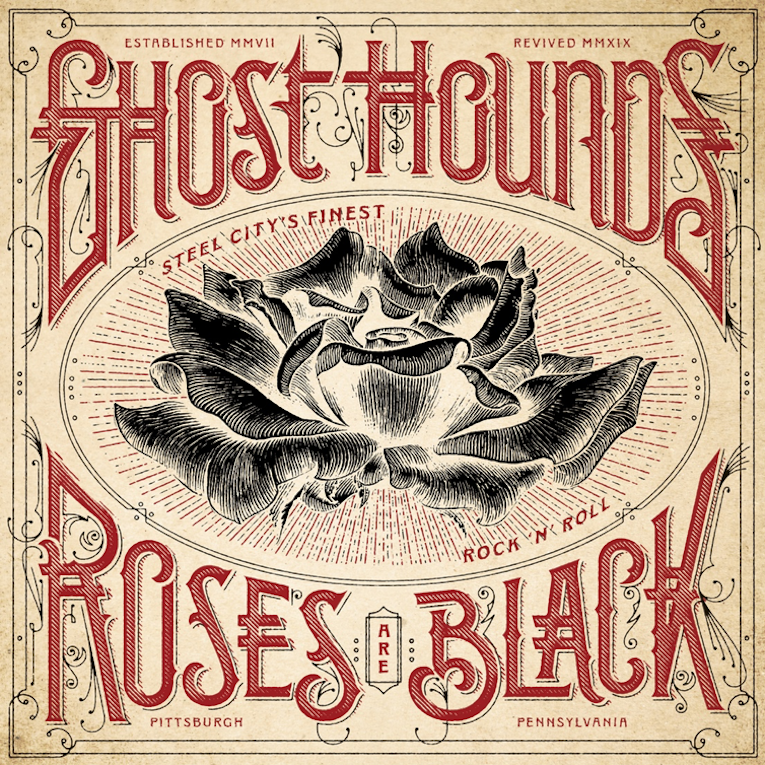 Ghost Hounds, new album announcement, Roses Are Black, Rock and Blues Muse